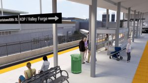 artisitic rendering of KOP rail